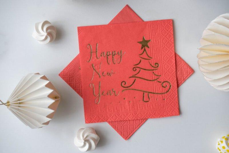 P-21 Happy New Year (15 Adet)
